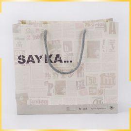 创意手提环保纸袋定做高档礼品纸袋个性商场购物手提纸袋定做logo