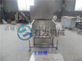 小型鸡排裹粉机 茄盒耦合上浆裹粉生产线 上粉均匀 产量高