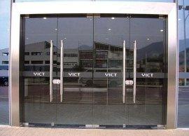 广州天河区钢化玻璃门定做安装公司
