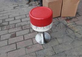 玻璃钢圆凳图片,广东鸿美佳厂家定制餐厅玻璃钢圆凳
