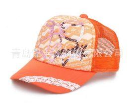 韩版时尚卡车帽 透气网眼货车帽 夏季遮阳棒球帽 男女潮网帽休闲帽