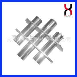 供应三角形磁力架、三管错位磁架、强力磁力架、注塑机料斗磁力架