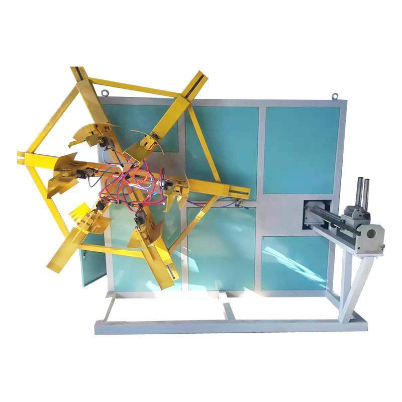 厂家定制PVC双盘管材收卷机 塑料全自动收卷机缠绕膜挤出机