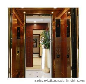 电梯刷身份证(居住证)
