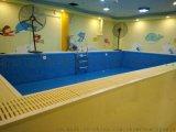 北京金碧源鋼架訓練池,水育早教池。