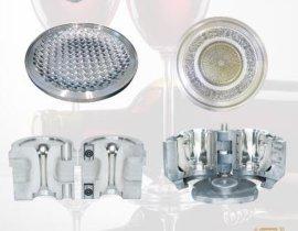 精工模具可来样来图批量生产不锈钢或铸铁材质的器皿玻璃模具