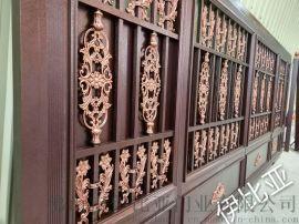铝艺庭院别墅门 铜门 欧式铁艺风格大门
