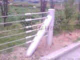 景区绳索护栏、钢丝绳护栏厂家、柔性防撞护栏