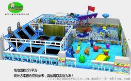 大蹦床主题乐园,室内淘气堡,儿童游乐设备