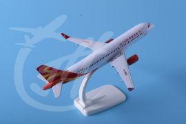 合金飞机模型A320桂林航空18cm飞机模型