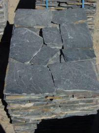 黄木纹 青石板 碎拼石