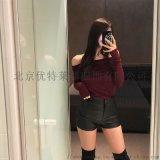艾唯都北京羊毛大衣尾货批发网折扣女装 北京有尾货批发市场在哪里
