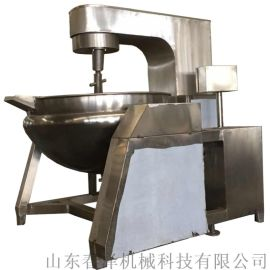 行星搅拌锅 高粘度产品专用燃气加热夹层锅
