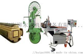 上海嘉定供应木工MJ450圆木跑车带锯机