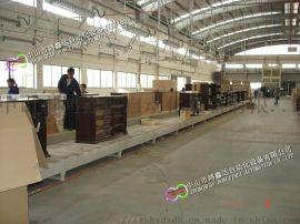 佛山家具流水线,广州木质地板输送线,肇庆木门地滚线