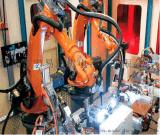 汽车配件/五金件/钣金件焊接机器人