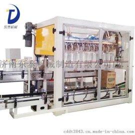 桶装油自动装箱机(机械手式) 7月份热**款