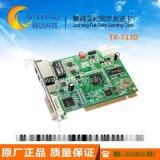 聚诚TX-T13D全彩发送卡 LED显示屏南京聚诚DVI同步发送卡TX-T13D