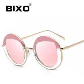 深圳比克索/BIXO女士品牌复古太阳眼镜