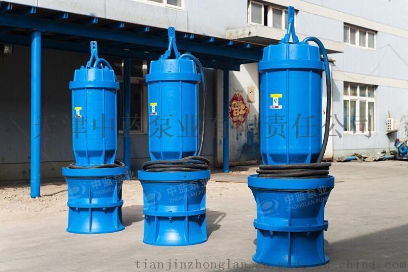 天津中藍泵業QZB潛水軸流泵、QHB潛水混流泵