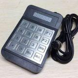 公交专用密码键盘YD516D 防水防拆金属密码键盘 航空接口