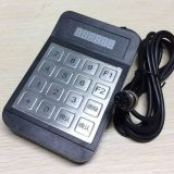 公交專用密碼鍵盤YD516D 防水防拆金屬密碼鍵盤 航空接口
