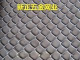 专业生产镀锌菱形网 浸塑勾花网 勾花网护栏