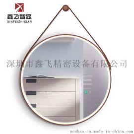 鑫飞智显15.6寸壁挂式镜面广告机 多点触摸电子镜 高清显示 查询一体机