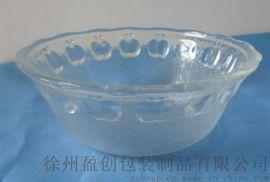 生产玻璃苹果碗 玻璃碗 玻璃器皿