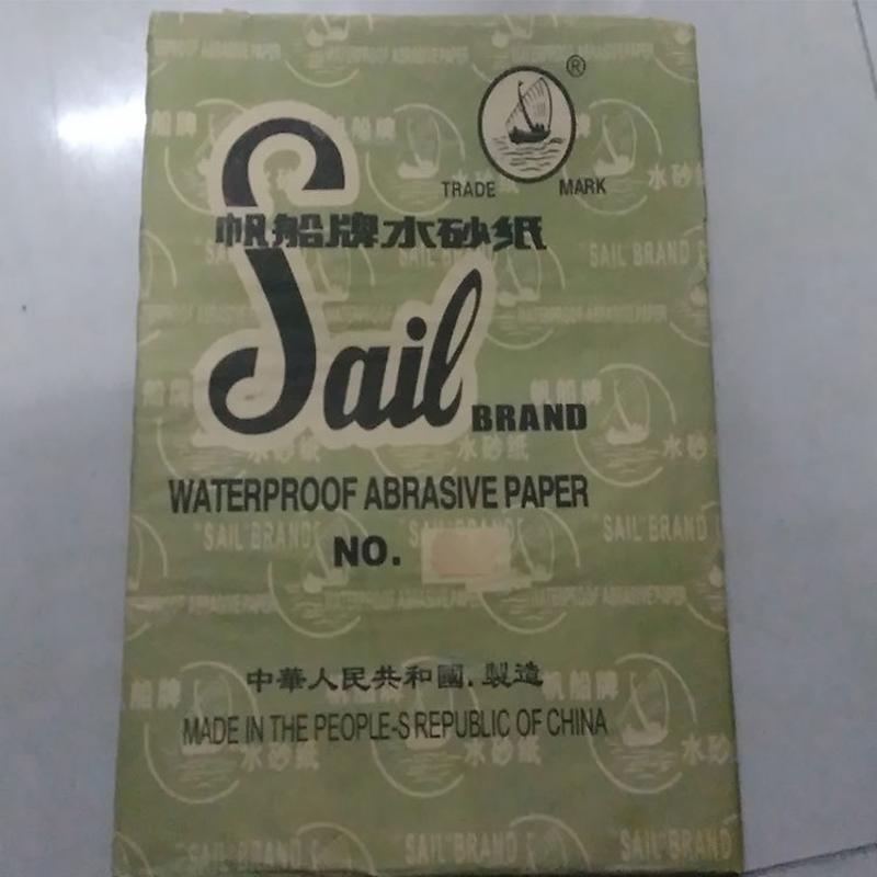 帆船打磨砂紙 金相水砂紙 80-2000目