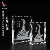 廣州五羊水晶內雕紀念品 旅遊紀念工藝禮品