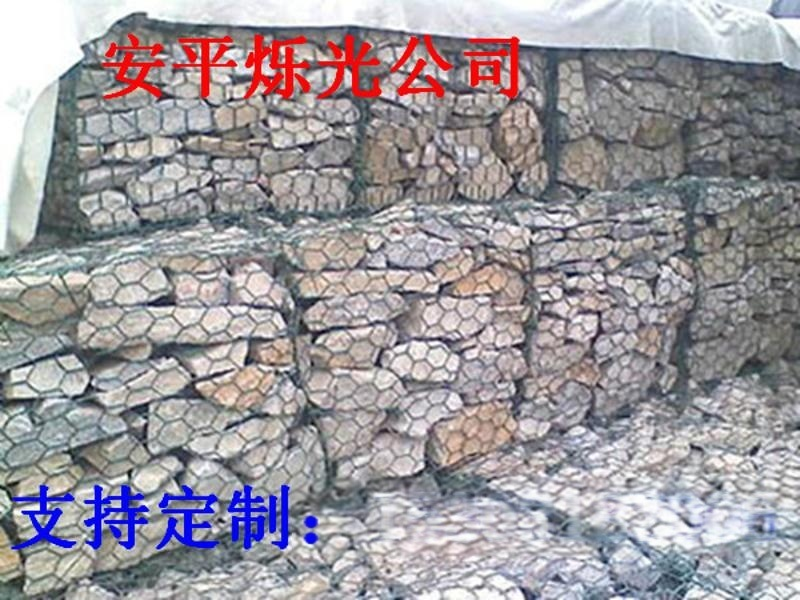 湖南五绞生态格宾石笼网 河道防护治理专用