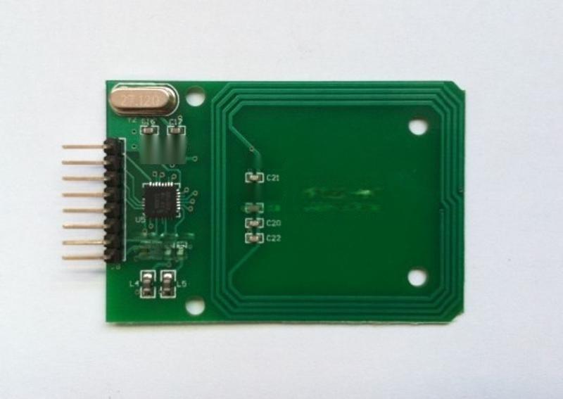 RC522RFIDIC卡無線感應模組讀卡模組