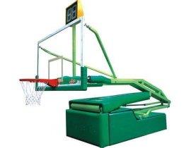 **电动液压篮球架凹箱遥控