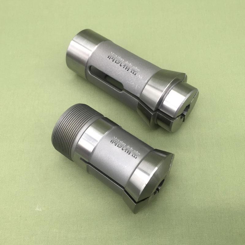 BKO牌高精度走心機夾頭 TODAYCNC今日標準20型鎢鋼夾具導套 車牀筒夾 非標訂做