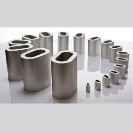 鋼絲繩衝壓鉚接用鋁套,O型鋁套