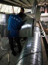 广州白铁风管工程-佛山工业除尘通风管工程-法兰/不锈钢风管