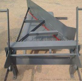 手动犁式卸料器 耐磨聚氨酯犁式卸料器