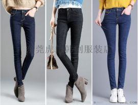 清5元牛仔裤工厂直销女装牛仔裤时尚百搭小脚裤