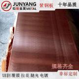 T2紫铜板 C1100止水铜板 紫铜金属板