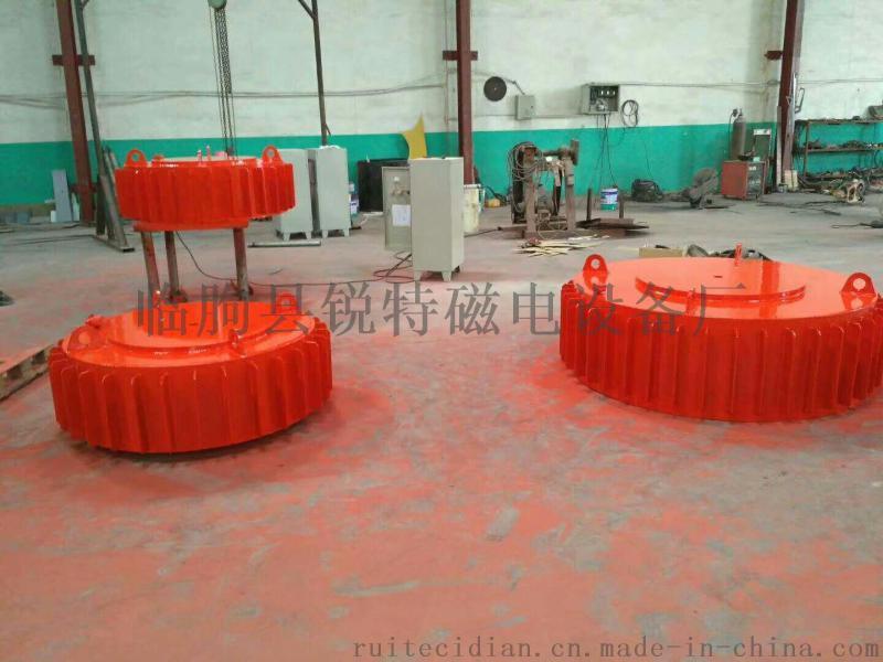 砖厂专用强磁电磁铁,砖瓦强磁除铁器