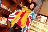 女性针织经编纯色围巾