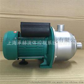 威乐离心泵MHI203卧式不锈钢离心泵价格