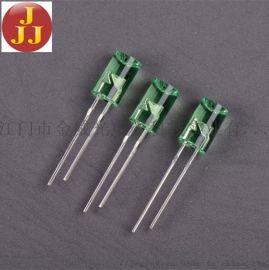 5mm 内凹绿光LED发光二极管灯珠用作圣诞灯