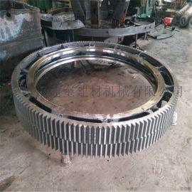 包膜机大齿轮铸钢大齿圈