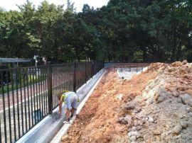佛山锌钢围栏畜牧围栏组合锌钢护栏成本多少一米