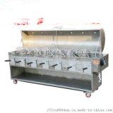 定做小型家用電烤羊腿爐-二三四五六頭烤羊腿機