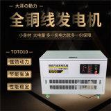 大泽动力10kw无刷静音汽油发电机TOTO10