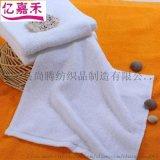 酒店小方巾純棉吸水洗臉面巾賓館毛巾可定製logo
