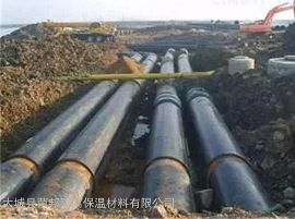 预制聚氨酯直埋保温管,直埋式保温管道